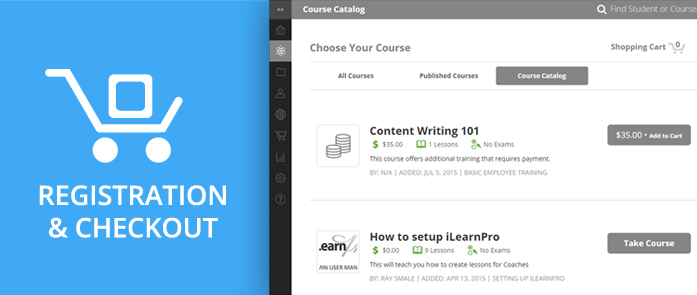 iLearnPro Blog Image for Course Registration and Checkout