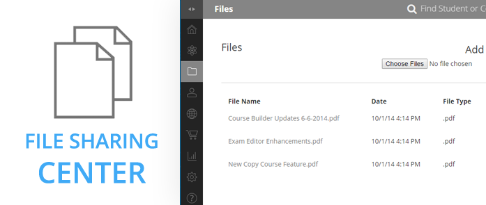 iLearnPro Support Image for File Sharing Center